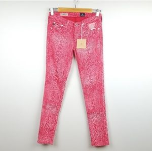 AG | The Legging Super Skinny Ankle Jeans | Pink